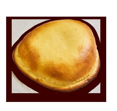 羽根付きクリームパン