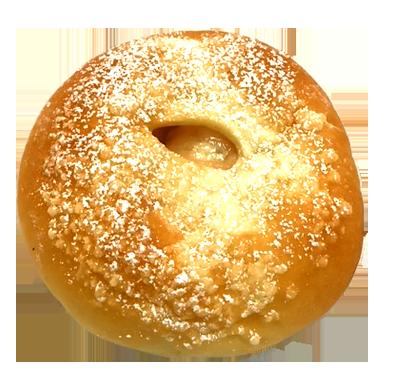 白桃クリームパン