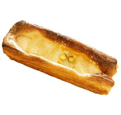 洋梨のクリームチーズデニッシュ