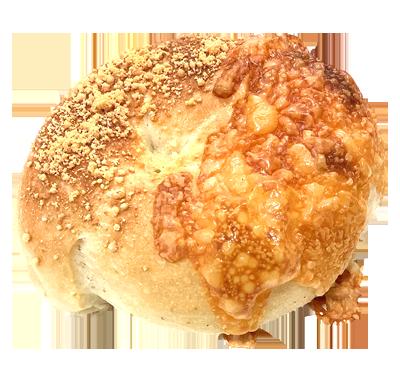 チーズフォンデュベーグル