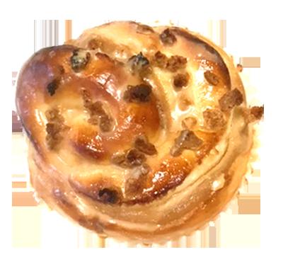 ピーナッツクリームパン焦がしきな粉の香り