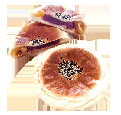 紅芋のメープルクルミ